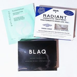 Gel Eye Mask/Patch Lot- BLAQ~Patchology~My SpaLife